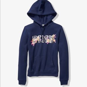 PINK SEQUIN BLING PERFECT PULLOVER